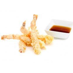 Креветки темпура + соус