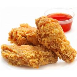 Куриные крылышки + соус