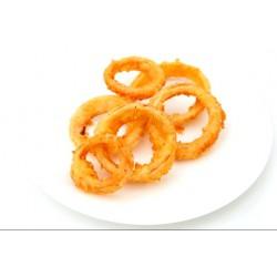 Луковые кольца + соус